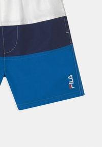 Fila - NICOLO  - Swimming shorts - skydiver/black iris/bright white - 2