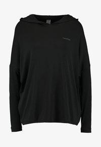 Calvin Klein Underwear - HOODIE - Pyjama top - black - 3