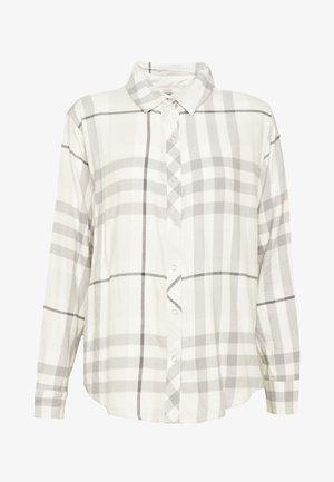 RACHEL SHIRT - Pyžamový top - taylor plaid/grey shadow