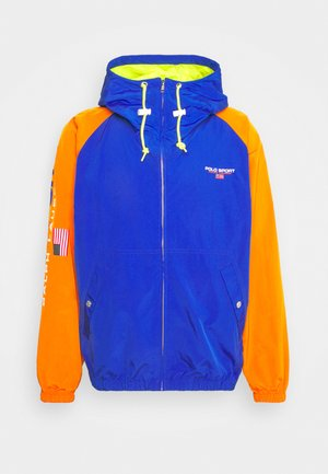 UNLINED JACKET - Leichte Jacke - rugby royal/orange/bright pearl