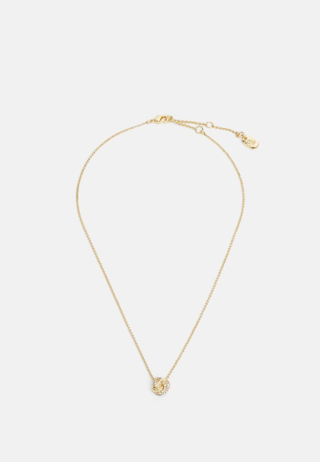 CARDED PAVE KNOT - Smykke - gold-coloured