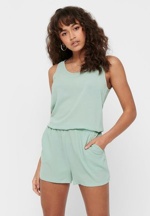 PLAYSUIT ÄRMELLOSER - Combinaison - frosty green