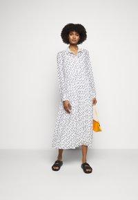 Bruuns Bazaar - THORA ALASKA DRESS - Shirt dress - white - 1