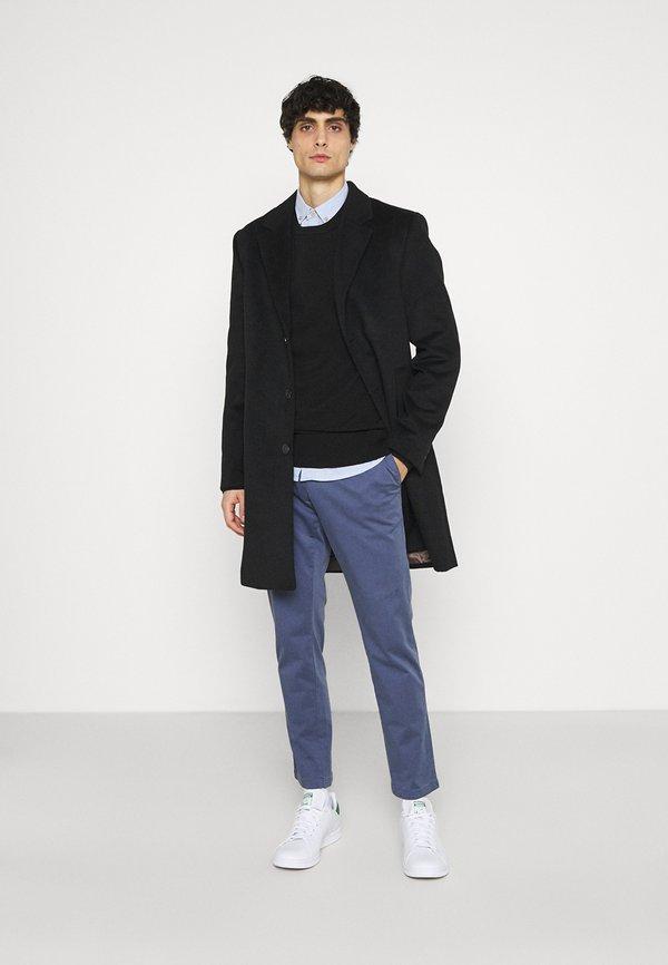 Tommy Hilfiger CREW NECK - Sweter - black/czarny Odzież Męska FNAG