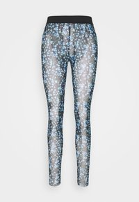 YAS - YASMILANA  - Leggings - black/blue - 3