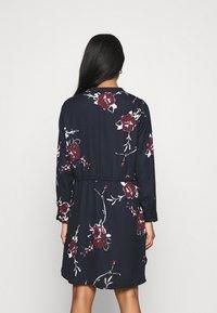 ONLY - ONLCORY V NECK TUNIC - Shirt dress - dark blue - 2
