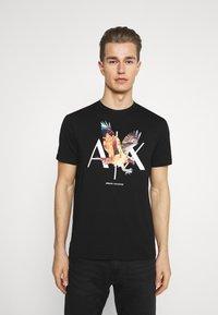 Armani Exchange - T-shirt print - black - 0