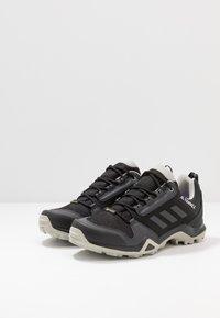 adidas Performance - TERREX AX3 GTX - Hiking shoes - core black/dough solid grey/purple tint - 2