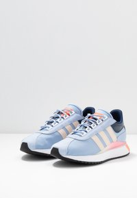 adidas Originals - SL ANDRIDGE - Sneakers - periwinkle/true pink - 4