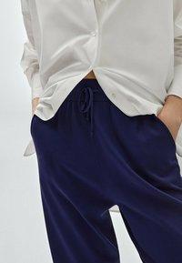 Massimo Dutti - Tracksuit bottoms - blue - 2