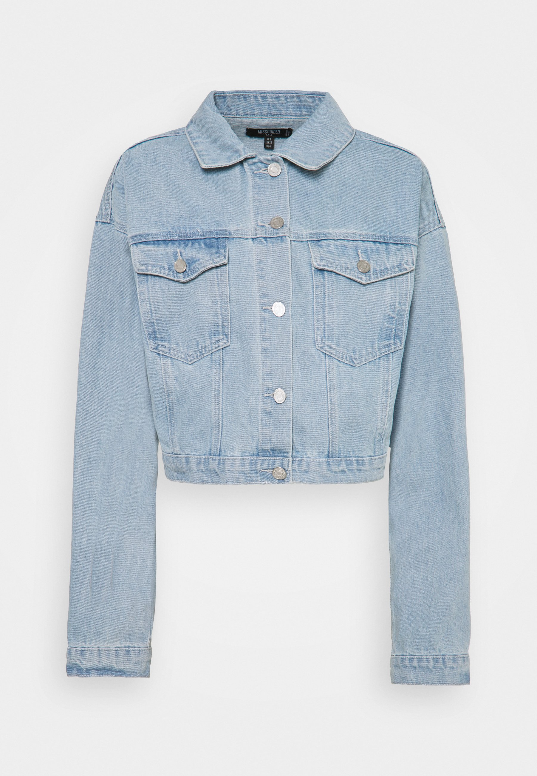 Women CROP JACKET - Denim jacket