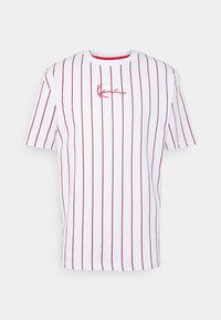 Karl Kani - SMALL SIGNATURE UNISEX  - T-shirt con stampa - white - 4