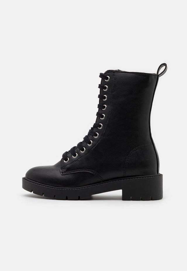 ELI CLEAN LACE UP - Stivaletti stringati - black