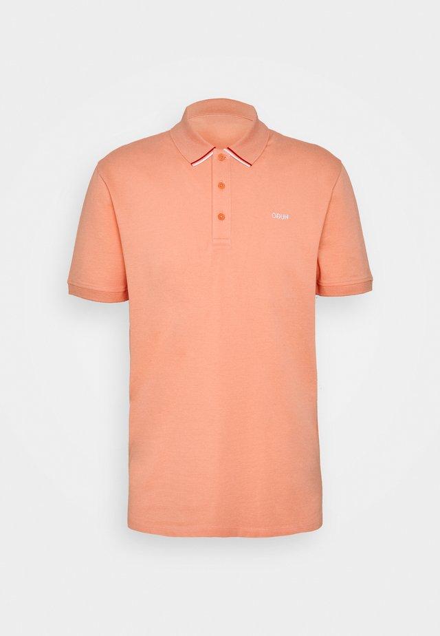 DARUSO - Polo - light pastel orange