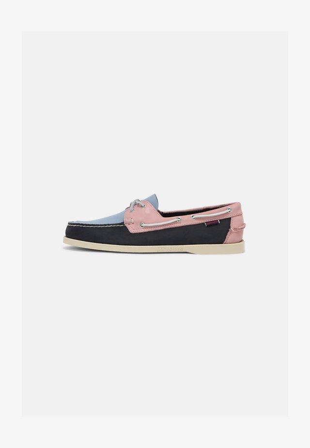 PORTLAND ARCHIVE - Bootschoenen - blue/pink/light blue