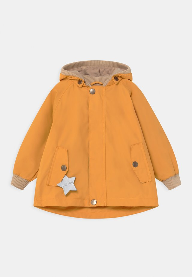 WALLY UNISEX - Korte frakker - waxed honey
