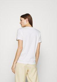 Fabienne Chapot - ROMY LIME - Print T-shirt - cream white - 2