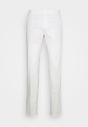FLEX SLIM FIT PANT - Trousers - white