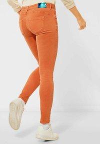 Street One - Jeans Skinny Fit - orange - 2