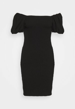 NELMA SMOCK DRESS - Etuikjole - black