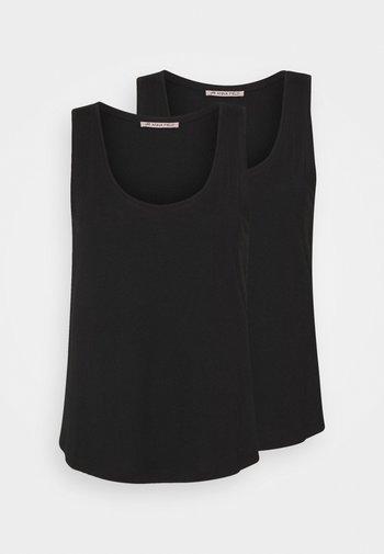 2 PACK - Topper - black/black