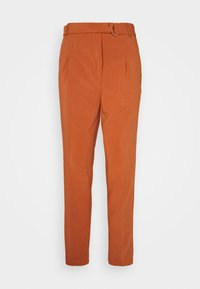 TROUSERS - Trousers - brown