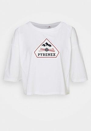MARY - Print T-shirt - white