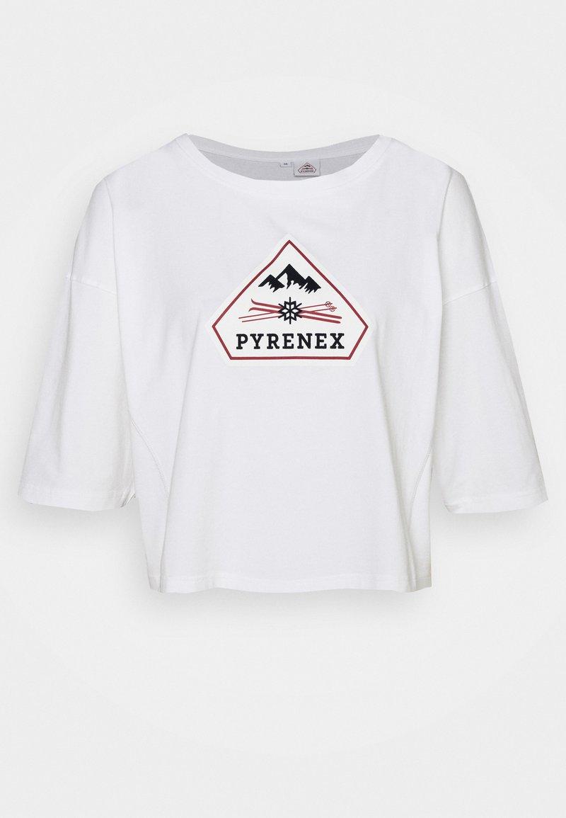 PYRENEX - MARY - Print T-shirt - white