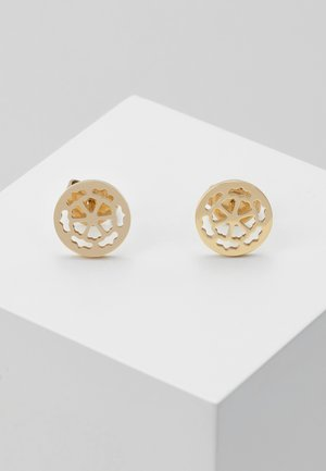 PEONY ART - Earrings - gold-coloured