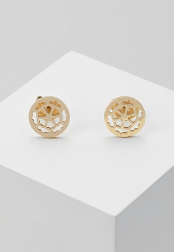 PEONY ART - Earrings - gold-coloured