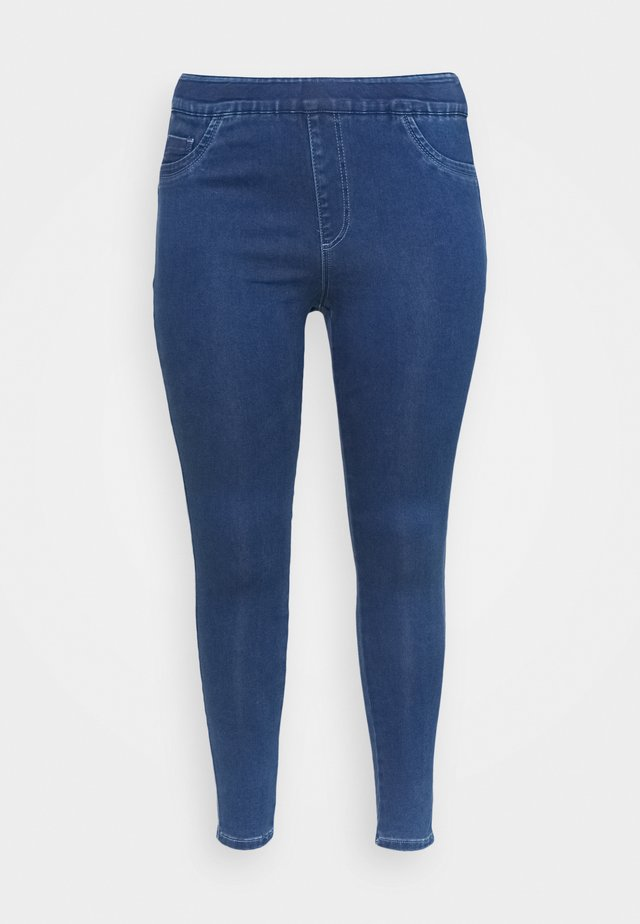 SCULPTING SKINNY JEGGINGS - Jeans Skinny Fit - mid blue
