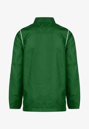 PARK 20 REPEL REGENJACKE KINDER - Chaqueta de entrenamiento - pine green / white
