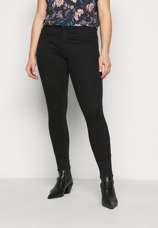 CARFLORIA LIFE  - Skinny džíny - black