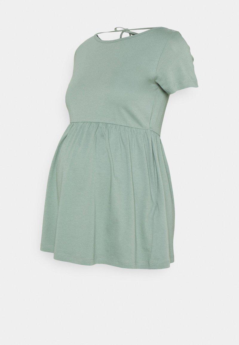 MAMALICIOUS - MLHAZEL  - Camiseta estampada - chinois green