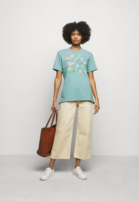 M Missoni - Print T-shirt - mottled teal - 1
