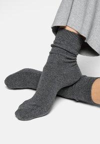 FALKE - COSY WOOL - Socks - light grey mel - 2