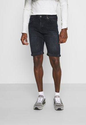 CORVIN - Denim shorts - ebony
