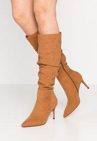Anna Field - Boots - cognac - 0