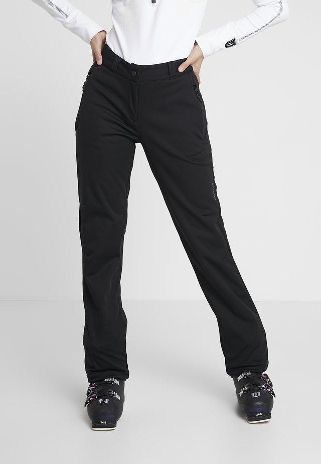 TALPA LADY - Spodnie narciarskie - black
