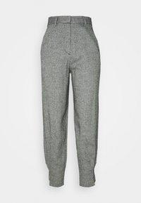 EDITED - FLEUR TROUSERS - Pantalon classique - grau - 0