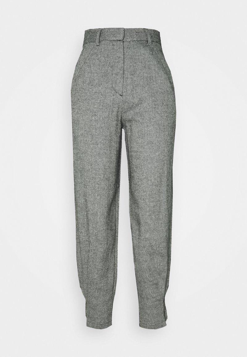 EDITED - FLEUR TROUSERS - Pantalon classique - grau