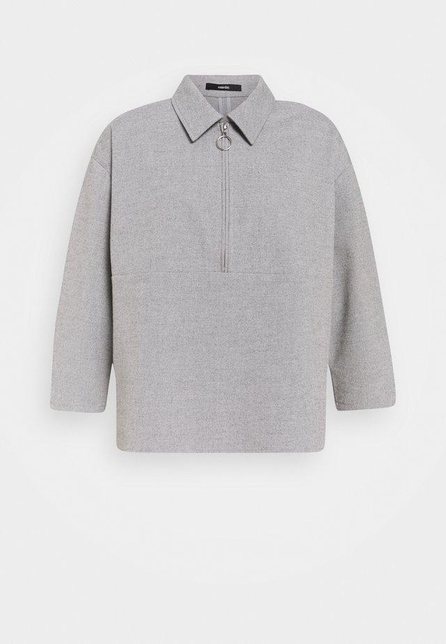 ZAPRINA - Bluzka - good grey