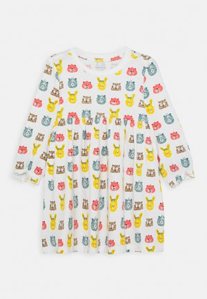 NBNUNNALO DRESS - Jersey dress - snow white