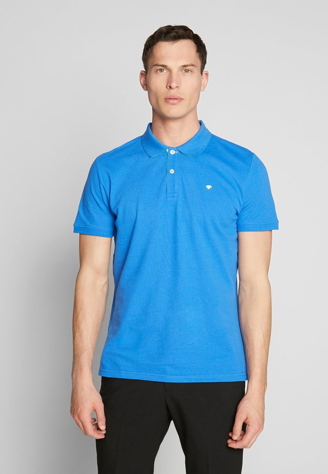 BASIC WITH CONTRAST - Polo - victory blue