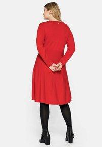 Sheego - Jumper dress - rot - 2