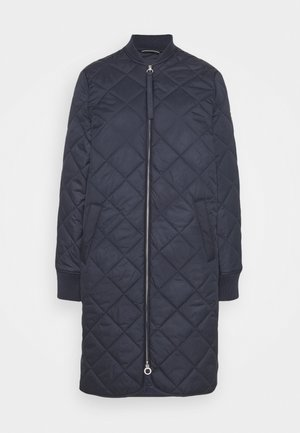 LANGARM - Short coat - navy