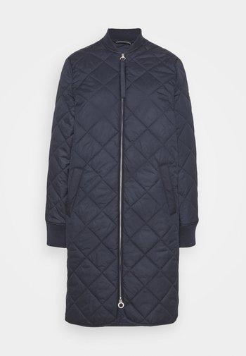 LANGARM - Short coat - navy