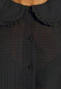 JDY - JDYLAURE COLLAR SHIRT - Button-down blouse - black - 6