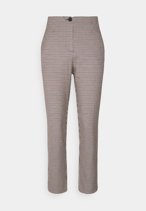 BLAIRE TROUSERS - Trousers - rot/blau/mischfarben