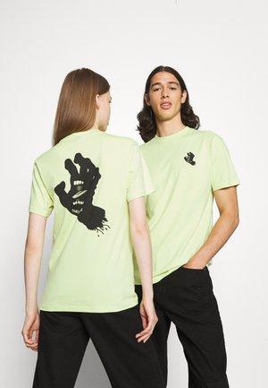 MONO HAND EXCLUSIVE UNISEX - Print T-shirt - mint